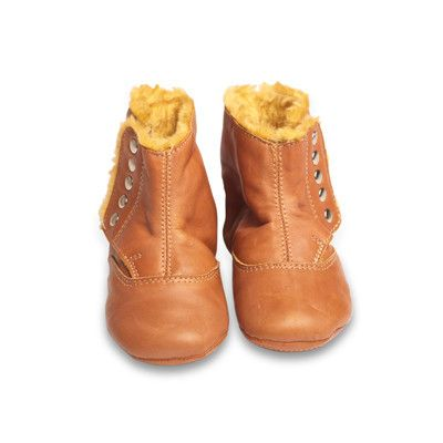 Old Soles North Pole Boot in Tan with Bronze Studs #BabyGirl #Shoe #Boot #Sweetthing sweetthing.com.au