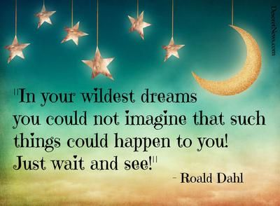 Dreams | 20 inspiring Roald Dahl quotes from 'Charlie and the Chocolate Factory,' etc. | Deseret News