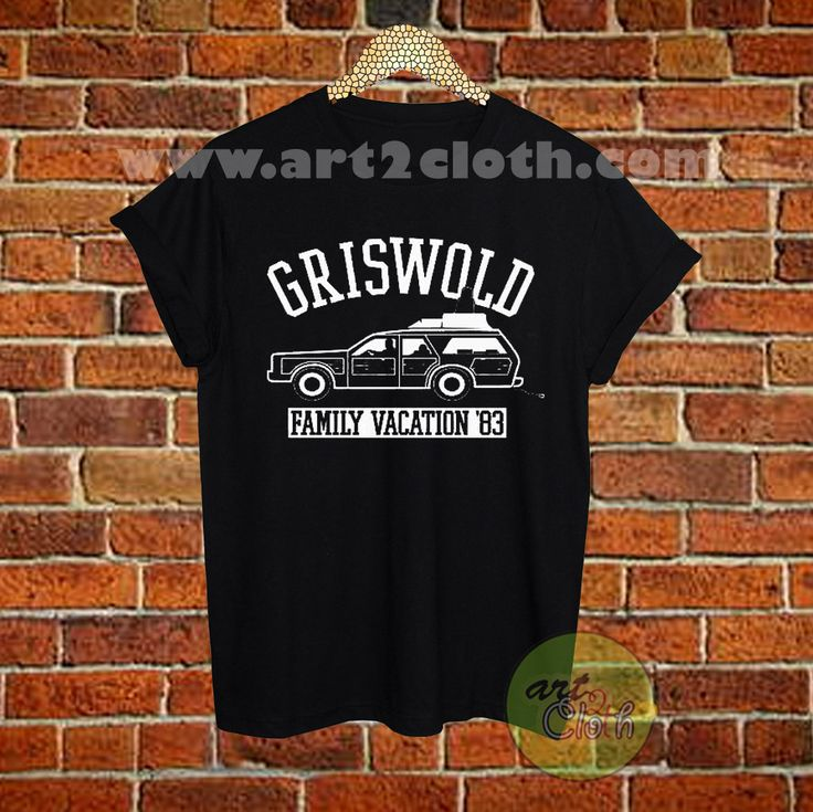 Griswold Family Vacation 80s T Shirt Size XS,S,M,L,XL,2XL,3XL //Price: $12 //     #Trendfashion