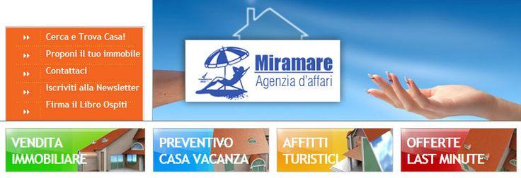 L'agenzia Miramare si presenta L'Agenzia Miramare può contare su un bagaglio di esperienza pluridecennale, e su di uno staff giovane e dinamico.