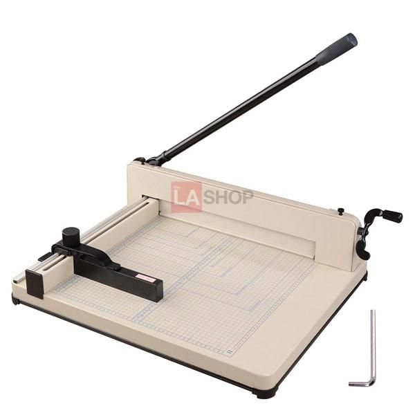 """12"""" 17"""" Heavy Duty Manual Guillotine Paper Cutter Trimmer Opt"""