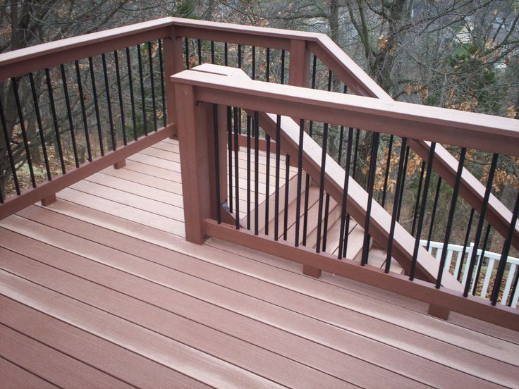 small back deck with steps | St. Louis Deck Contractor: Deck design ideas