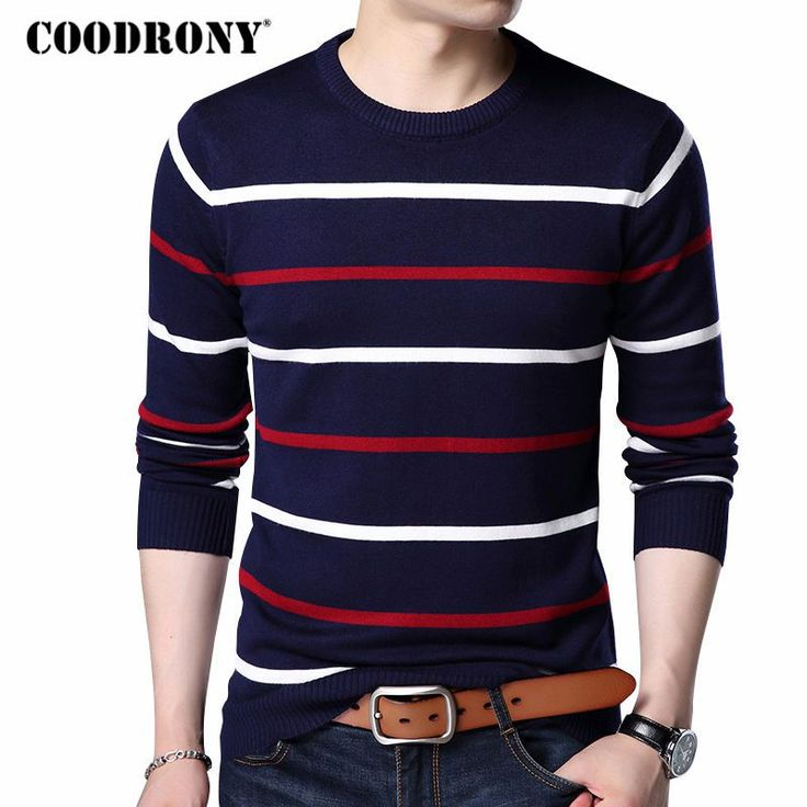 COODRONY O-Neck Pullover Men Brand Clothing 2017 Autumn Winter New Arrival Cashmere Wool Sweater Men Casual Striped Pull Men 152     Tag a friend who would love this!     FREE Shipping Worldwide     Buy one here---> https://onesourcetrendz.com/shop/all-categories/mens-clothing/mens-sweaters-cardigans/coodrony-o-neck-pullover-men-brand-clothing-2017-autumn-winter-new-arrival-cashmere-wool-sweater-men-casual-striped-pull-men-152/