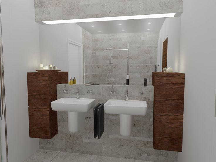 25 beste idee n over betegelde badkamers op pinterest badkameridee n badkamers en kleine - Klein badkamer model ...