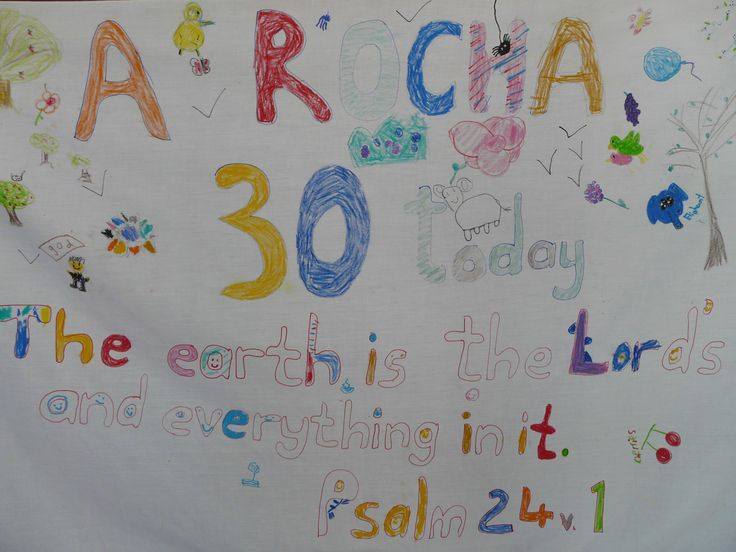 As part of A Rocha's 30th anniversary celebrations, churches in the UK, Belgium, South Africa and Brazil took part in our Wonder-ful Walks - an opportunity to explore the beauty of God's creation right on our doorsteps. Here's the fantastic banner made by the children of Christ Church, St Albans!