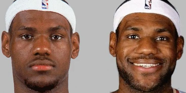 See LeBron James Age Before Your Very Eyes In 1 Glorious GIF