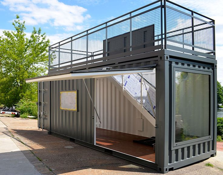 ECCO Showroom CONTAINERMANUFAKTUR BERLIN Seecontainer