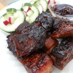 Simple Country Ribs — Extra tender, extra flavorful ribs, bursting with barbeque flavor.