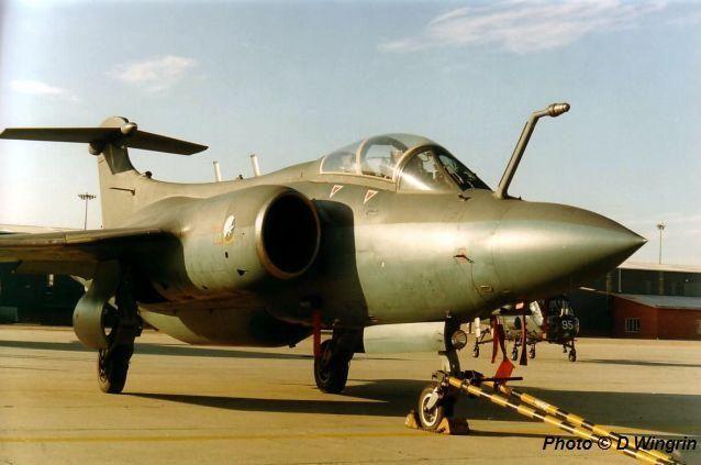 Blackburn Buccaneer 416 of South African Air Force in 1991.