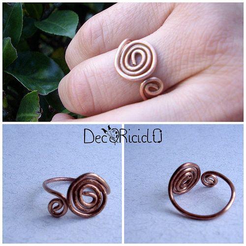decoriciclo: il mio anello di rame
