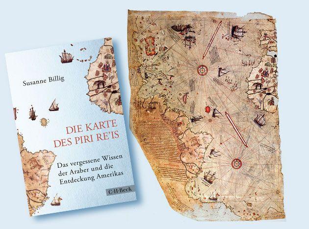 """Buchneuerscheinung: """"Die Karte des Piri Re'is – Das vergessene Wissen der Araber und die Entdeckung Amerikas"""" . . . http://www.grenzwissenschaft-aktuell.de/die-karte-des-piri-reis20170927"""