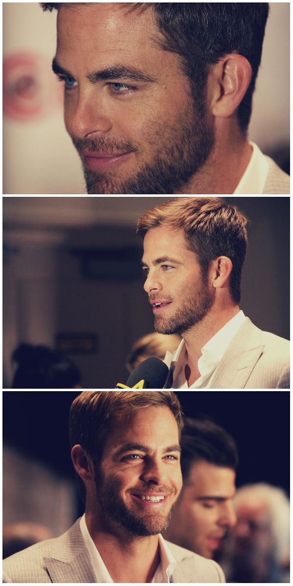 Chris pine - the guy who played young capt.kirk