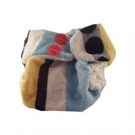 Recycled cotton nappy, fab for night times.