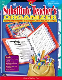 Substitute Teacher's Organizer.