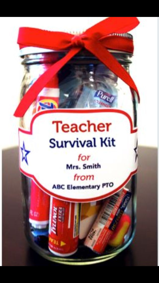 New Teacher gift.