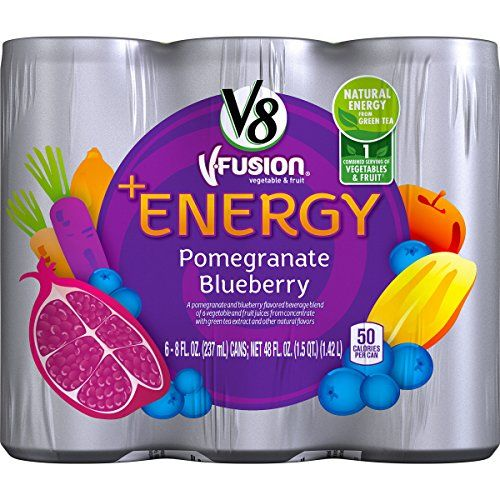 V8  Energy, Pomegranate Blueberry, 8 Ounce (Pack of 24) ** To view further for this article, visit the image link.