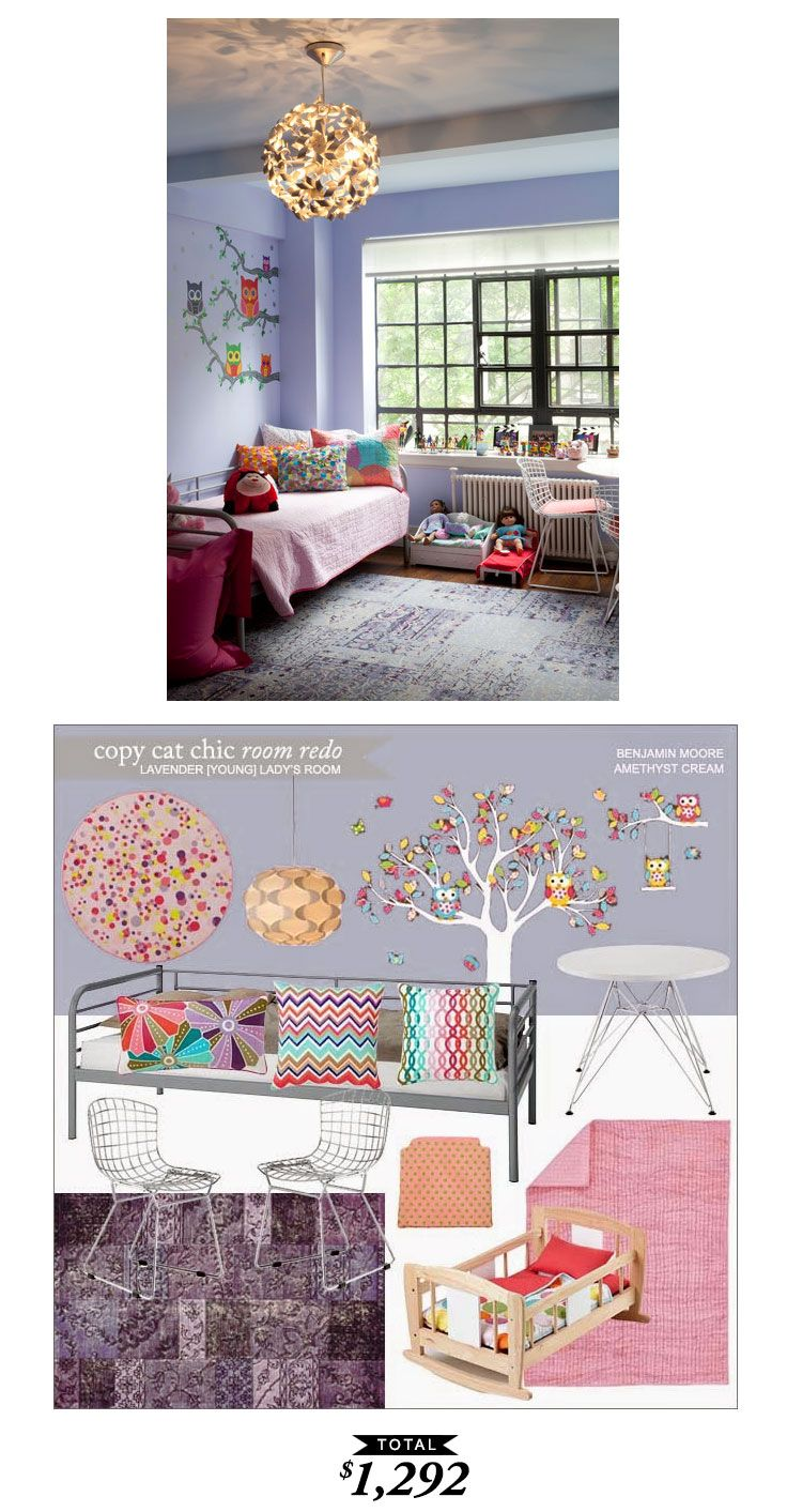Lavender Girl's Room for $1292 by Lindsey Boyer