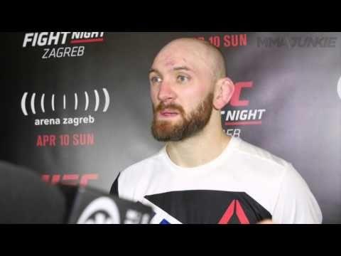 UFC Fight Night 86 Zak Cummings post fight interview