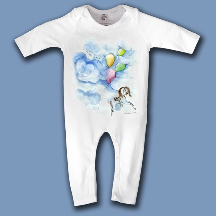 a little star is born  Share this:  Baby organic jumpsuit.    High quality garment decorated with original design in limited edition.    100% certified organic cotton.    interlock 200 g/m2    29,00 €