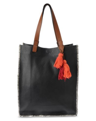 LEATHER TOTE @ Lucky Brand STYLE HKW0210 $159.00 100% LEATHER