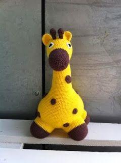 DIY - hæklet giraf