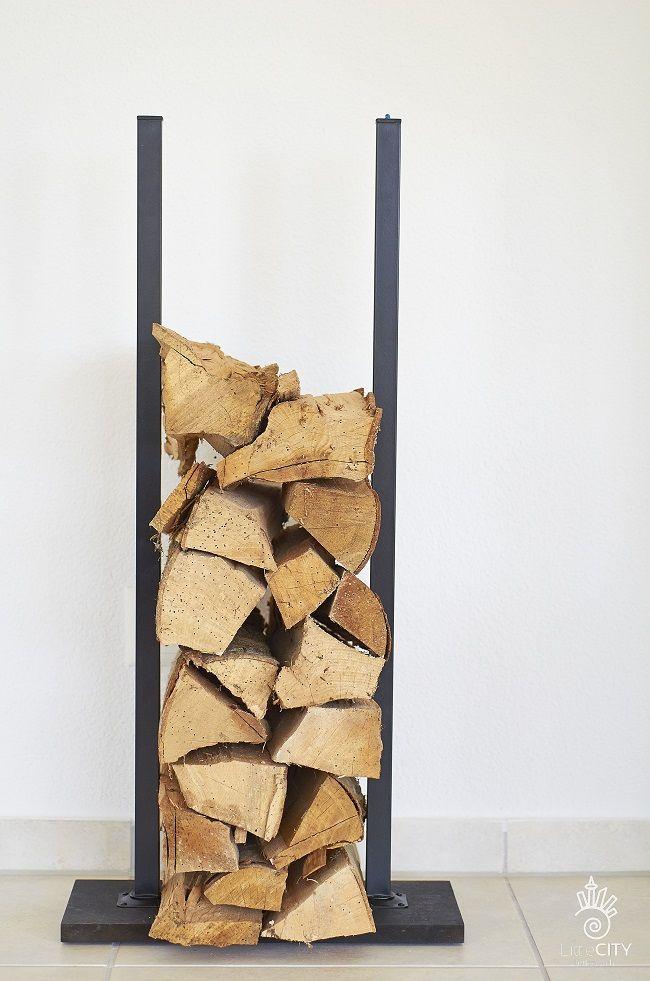 kamin holz regal einfach selber bauen sieht toll aus und verleiht dem cheminee das gewisse - Wohnzimmer Regal Selber Bauen