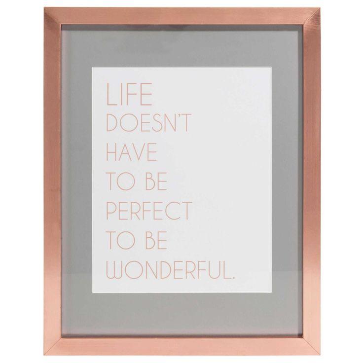 Copper Photo Frame - Proga | Info
