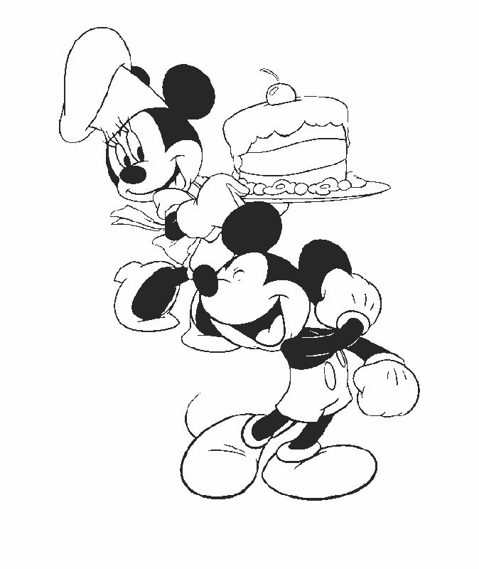 Mickey Mouse Coloring Pages 31