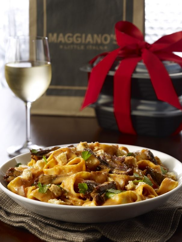 Braised Beef Pappardelle Recipe | Maggiano's Little Italy