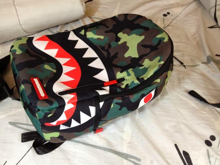 bape shark bag - Google Search