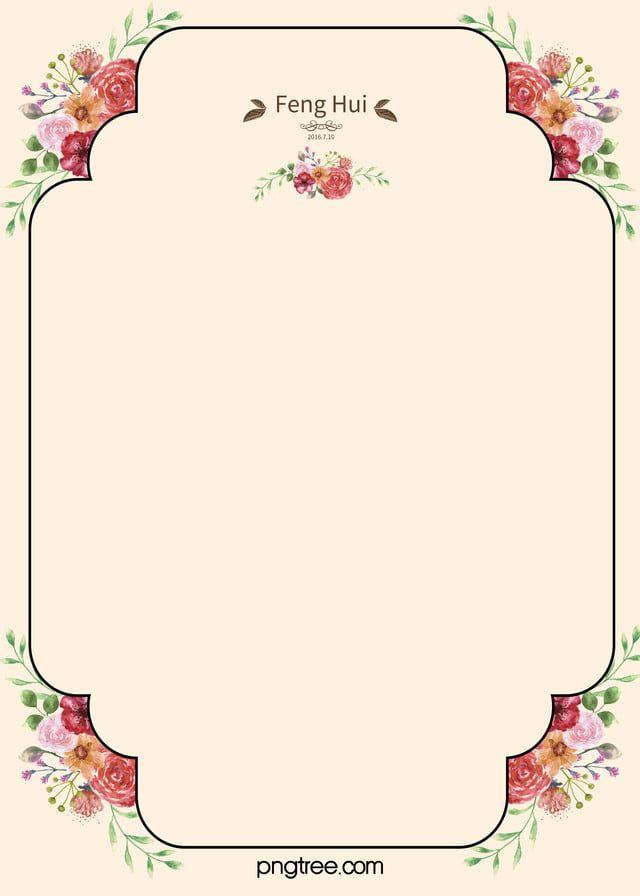 Material De Fundo De Convite De Casamento Bonito In 2020 Wedding Invitation Background Invitation Background Beautiful Wedding Invitations