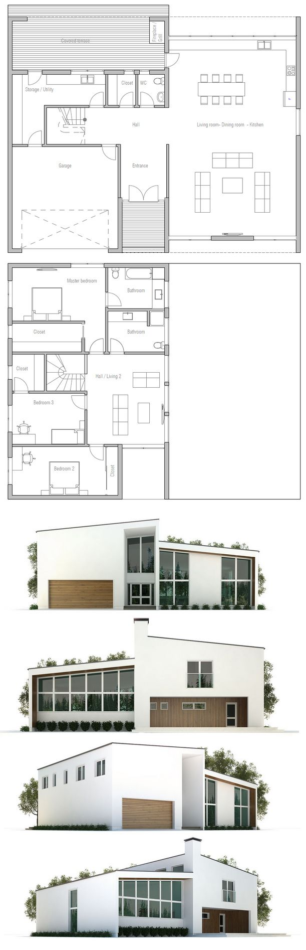 Minimalist house 3d - Find This Pin And More On First House 3d Plans