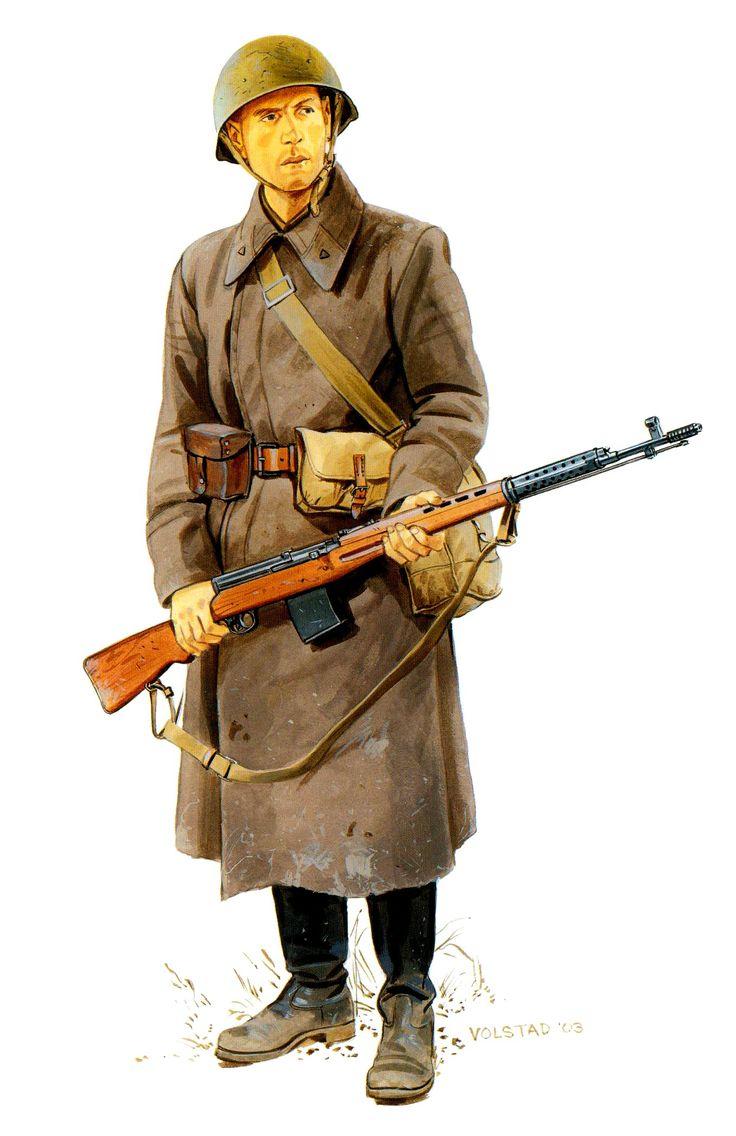 ARMATA ROSSA - Caporal Maggiore, Reggimento Fucilieri, Battaglia di Stalingrado,1942-43 - Ron Volstad