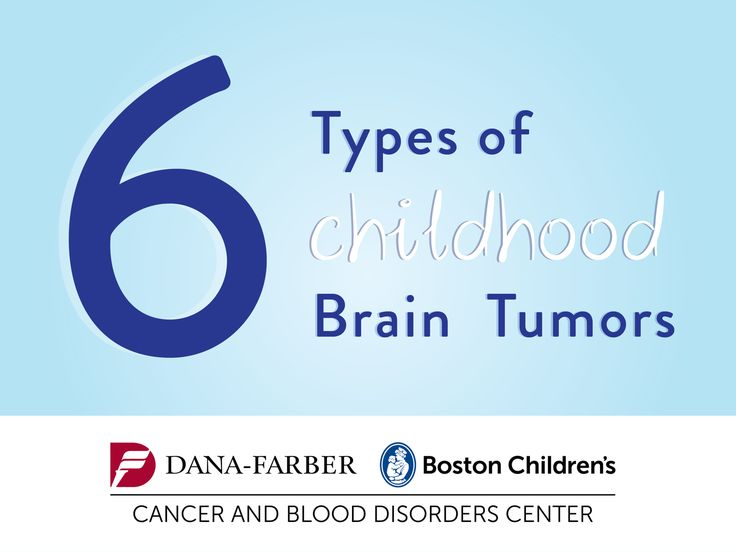 6 Types of Pediatric Brain Tumors