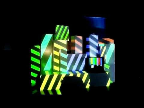 Nike 10K - Projection Mapping. #fashion #technology #show