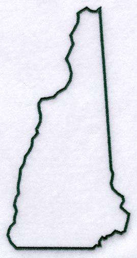 NH state outline - Google Search