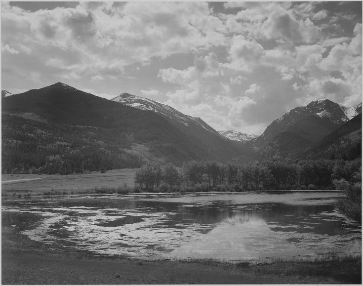 アンセル・アダムスロッキーマウンテン国立公園、コロラド州