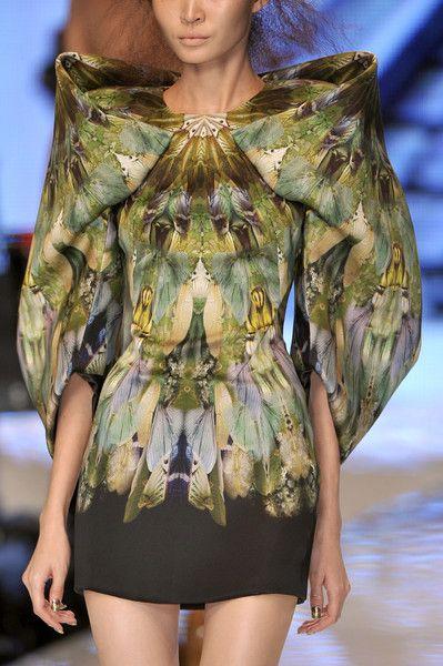 Alexander McQueen at Paris Fashion Week Spring 2010