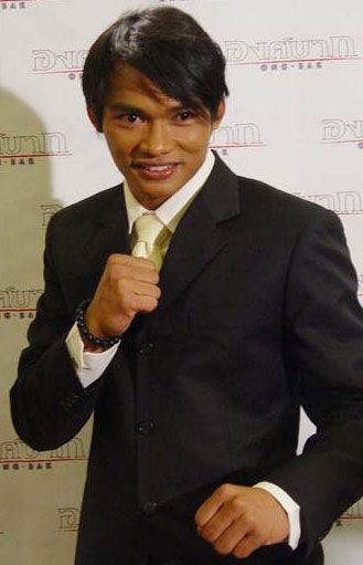 Tony Jaa (Surin province, Isan, Thailand) 1976.  He is a Thai martial artist, physical educator, actor, action choreographer, film producer, stuntman, director, and has spent time as a Buddhist monk. Film credits include Ong Bak (Series), The Protector and The Bodyguard.