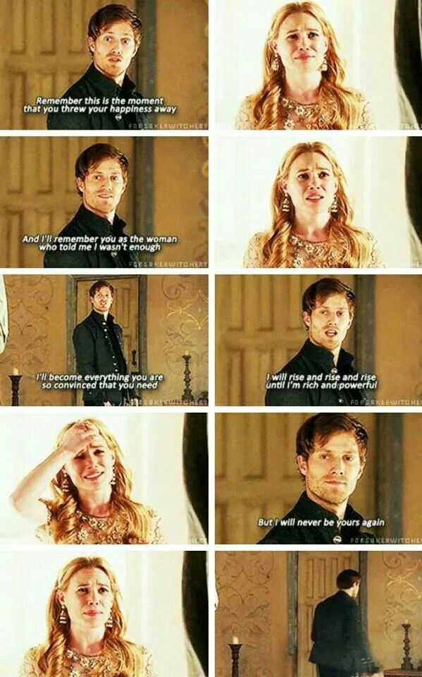 Wow.. Powerful words.... Greer and Leith ~ Reign OH MY GOSH STOP!!! I flipping loved these 2 together!!! NOOO!! FLIPPING NO!! I REFUSE!