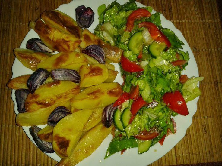 Ada's World: Cartofi la cuptor (Rina-amidon)