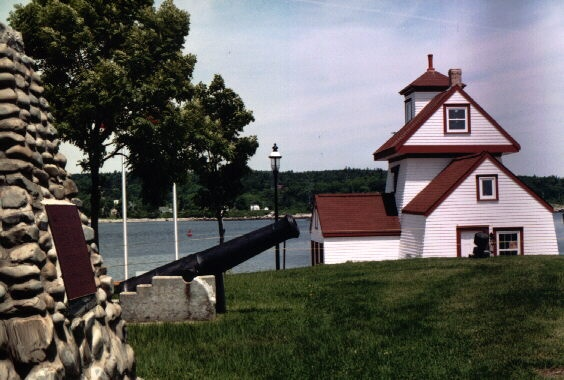 Fort Point Lighthouse and Museum Lunenburg County NS