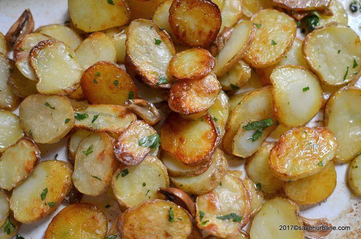 cei mai buni cartofi noi la cuptor reteta simpla