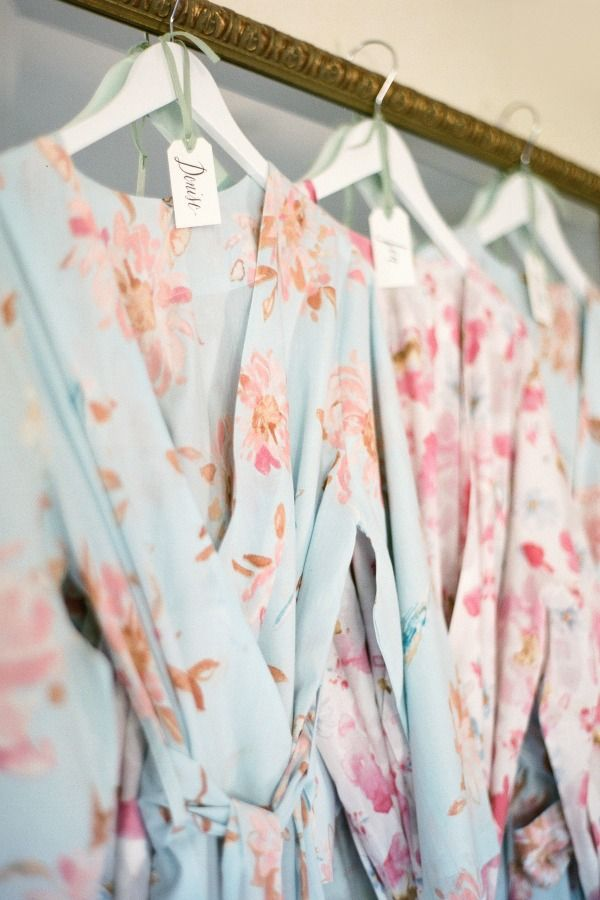 Plum Pretty Sugar Robes - love them for the Bride and Bridesmaids while they're getting ready.