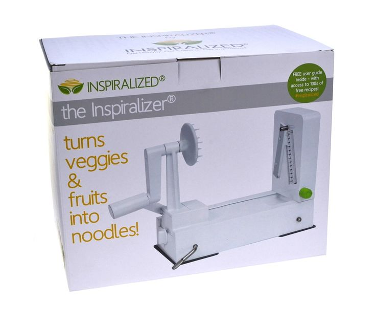 Buy The Inspiralizer Inspiralized Spiral Vegetable Slicer – PurpleSpoilz Australia
