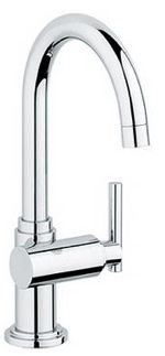 Atrio Basin/Pillar Tap Faucet $262.60 (as seen in remodelista)
