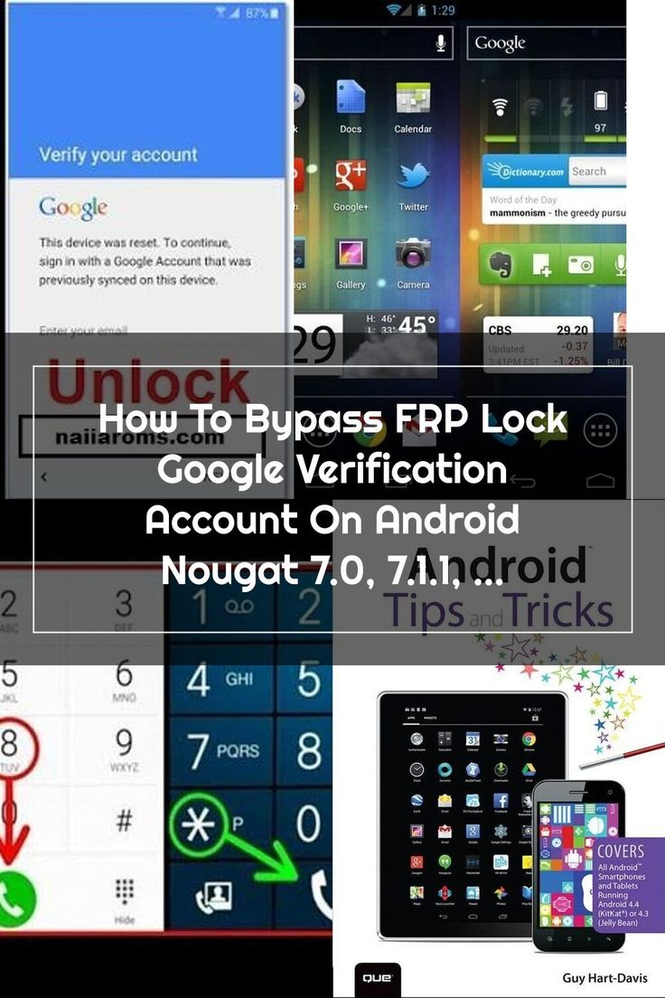 How To Bypass FRP Lock Google Verification Account On
