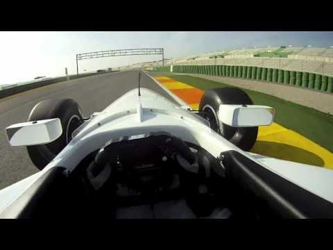 Auto GP - Valencia - Adrian Campos Jr. - Helmet Cam