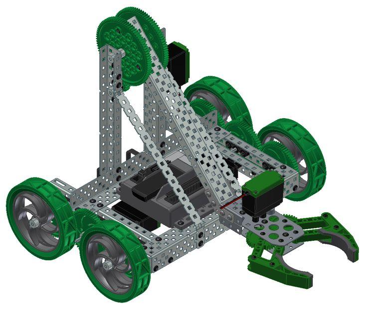 vex robot designs | VEX Robotics Clawbot