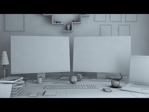 3ds max 2016 modeling techniques part - 1 - YouTube